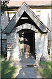 SK7160 : South Porch, St Radegund's church, Maplebeck by J.Hannan-Briggs