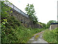 ST0799 : A former railway embankment, Aberfan by Jaggery