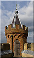 TQ0859 : Turret, Gothic Tower, Painshill Park by Ian Capper