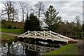 TQ0959 : Woollett Bridge, Painshill Park by Ian Capper