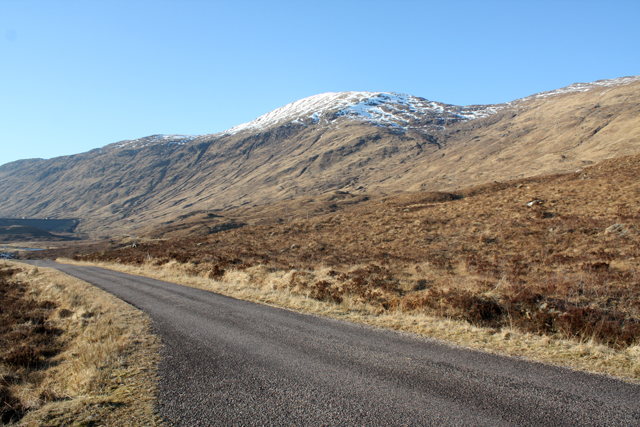 The Kinloch Hourn road