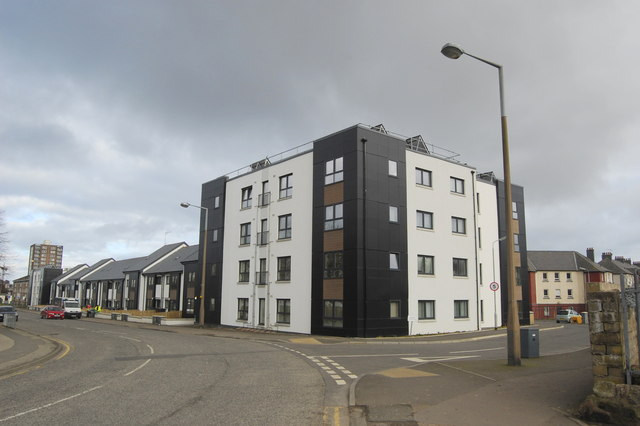 Eco-houses, Hayton Road, Aberdeen