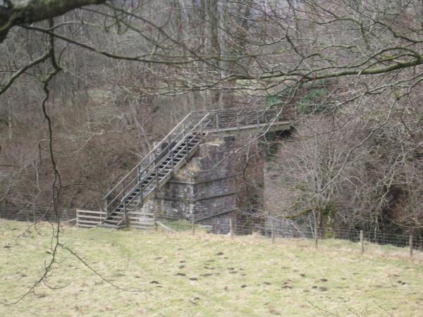 Footbridge over Barhaugh Burn