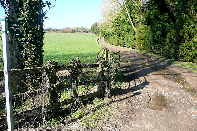 Footpath from Salford