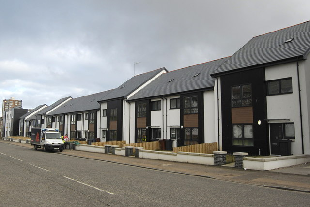 New Eco-houses on Hayton Road