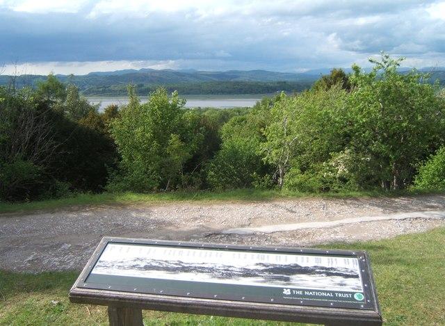 Mountain view-point, Arnside Knott