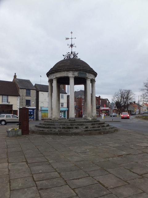 Tickhill's Market Cross and pump