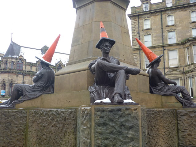 Newcastle Townscape : Thinking Caps On
