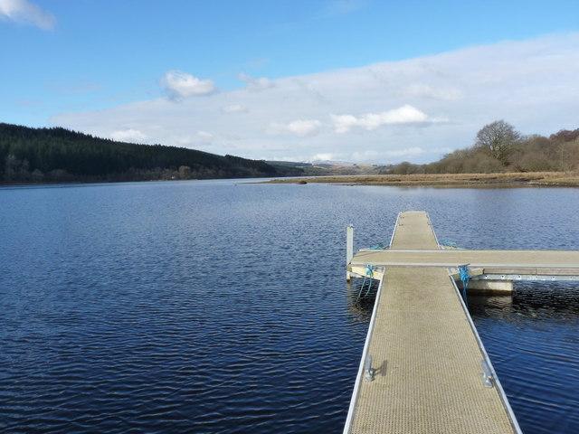 Upper Loch Ken from the pontoon