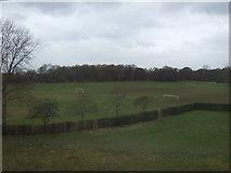SJ8487 : Sports fields, Gatley by JThomas