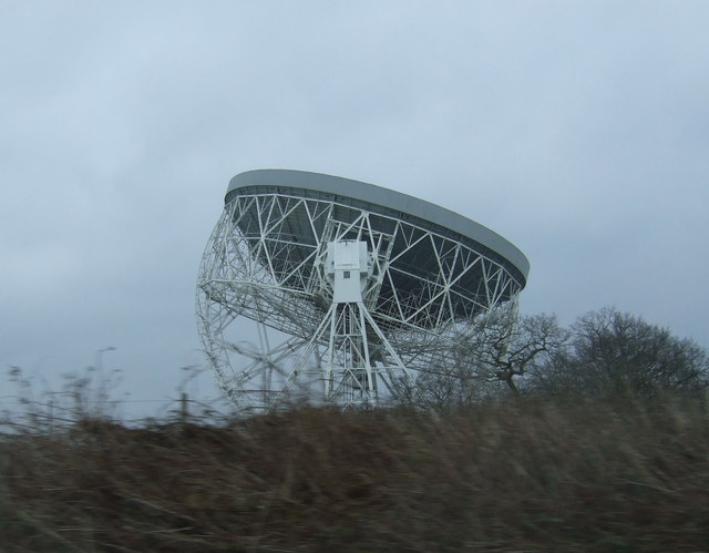 The Lovell telescope at Jodrell Bank