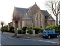 ST1871 : SE corner of St. Joseph's RC church, Penarth by Jaggery