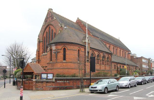St James, West End Lane, West Hampstead