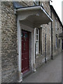SU2199 : Porch, Maplesale, High Street, Lechlade by Vieve Forward