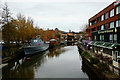 TG2308 : River Wensum, Norwich by Peter Trimming