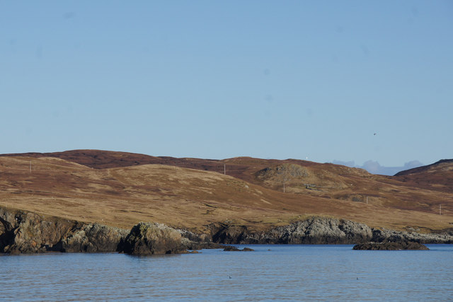 Muckle Stack and Flat Stack, Levaneap
