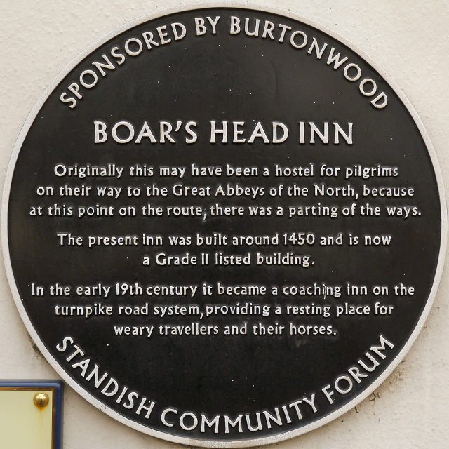 The Boar's Head (plaque)