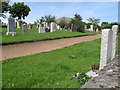 NO4203 : Cemetery View Towards Largo Law by Rude Health