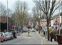 SO9097 : Lea Road in Penn Fields, Wolverhampton by Roger  Kidd