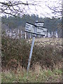 TM4470 : Roadsign on the B1125 by Adrian Cable