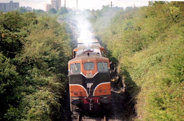 Cement train, Platin near Drogheda