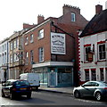 ST2937 : An old sign on a High Street wall, Bridgwater by Jaggery