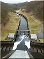 SE1557 : Thruscross spillway by Peter Bond
