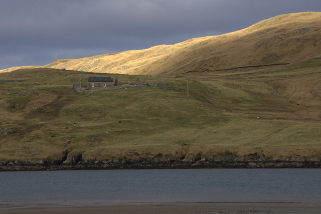 Benigarth, beside Sand Voe, North Roe
