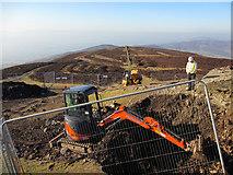 SJ1662 : Excavating the Jubilee Tower #3 - Feb 2013 by John S Turner