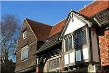 TQ4109 : Upper storeys, Anne of Cleves House, Lewes by nick macneill