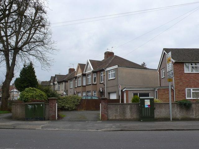 Houses on Dunkeld Avenue