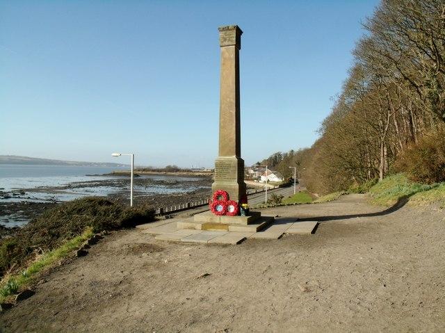 War memorial, Limekilns