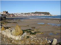 TA0487 : South bay view, Scarborough by Pauline E