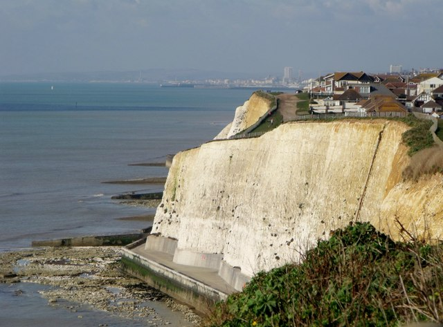 Cliffs at Peacehaven
