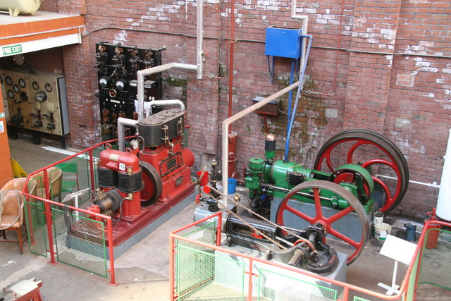 Bolton Steam Museum - small engines