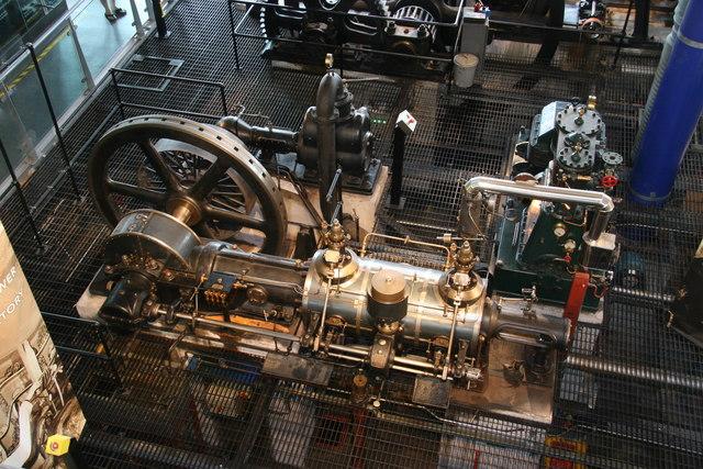 Thinktank - Galloway uniflow engine