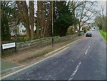 SU4512 : Looking east along Bursledon Road by Shazz