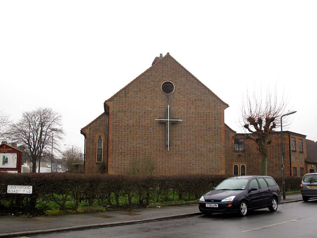 Church of the Ascension, Pollards Hill: east end
