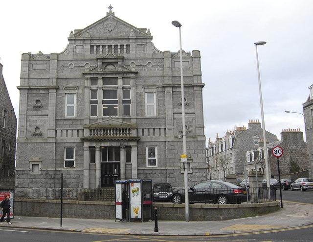Former Union Grove Church, Holburn Street, Aberdeen