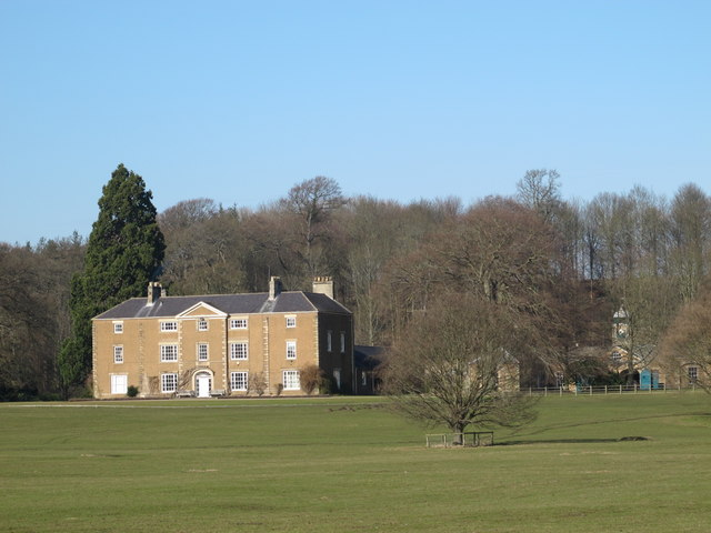 Styford Hall and stable block