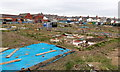 ST1268 : Slaughterhouse Allotments, Barry by Jaggery