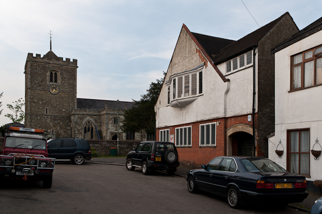 St Mary's Church Bletchingley and Church House