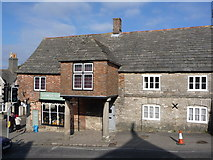 SY9682 : Corfe Castle: Cleall's Stores by Chris Downer
