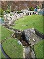SY9582 : Corfe Castle: model village watermill by Chris Downer