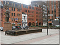 SJ8398 : Manchester, Lincoln Square by David Dixon