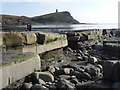 SY9079 : Kimmeridge: low view over Washing Ledge by Chris Downer