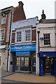 SU6351 : Opposite Lloyds, next to Barclays by Sandy B