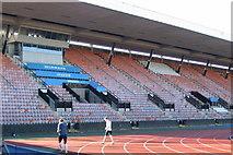 NT2774 : The track - Meadowbank Stadium, Edinburgh by Des Colhoun