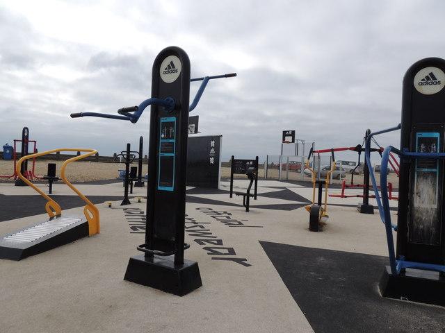 Public Gym Equipment - Hayling Island