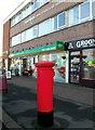 TQ1002 : Pillar box, Goring Way by nick macneill